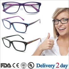 Modern style hard-wearing eyewear Glass frame transparent clear glass picture frame for women B041253