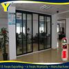 Australian standard AS2047 certified glass office entry doors/commercial glass entry door