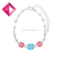 Neoglory Austria Bangles Bracelets Rhinestones Crystal Fashion Jewelry 2015 New for Women gift for wholesale