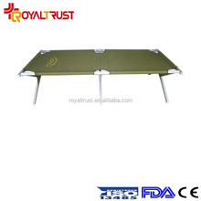 Model outdoor furniture military camping folding bed