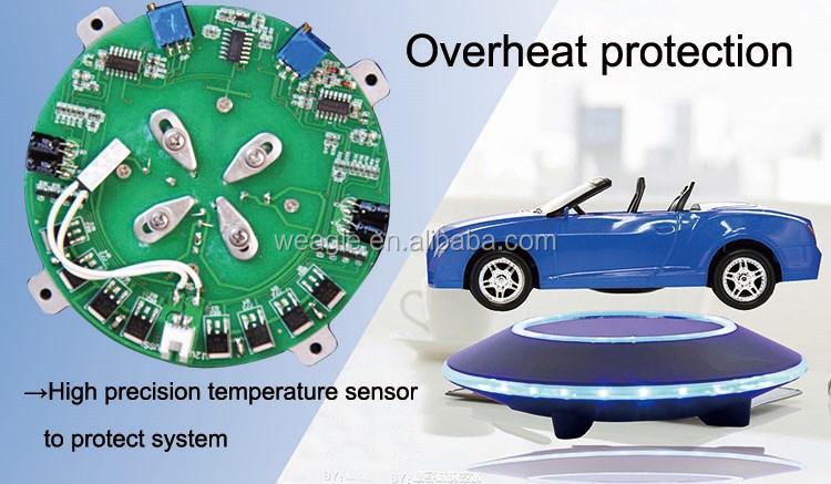 Максимальная нагрузка 500 г авто свободное вращение магнитный дисплей левитация устройство