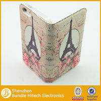 new product wallet flower leather case for iphone 5