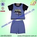 Jianer niños usa nueva llegada 100% de algodón de verano los niños trajes de los niños