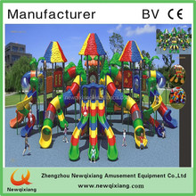 2015 Newest Natural Kid Play Outdoor Playground Equipment