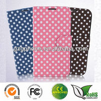 Leather cover for Samsung galaxy note2 n7100case