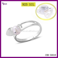 Factory Wholesale Sterling Silver Ring Semi Mounts