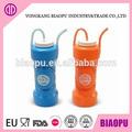 personalizado copos plásticos com canudos e tampas para as crianças