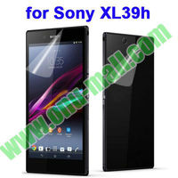 (Front + Back) For Sony Xperia Z Ultra Clear Screen Protector For Sony XL39h