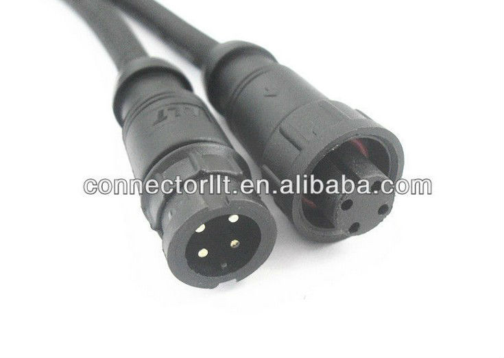 Ip quick release cable connector view