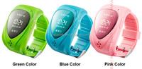 Handle GPS GSM Watch Mobile Phone with SOS/Watch Dial Design U-blox GPS Module