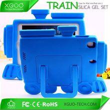 handle design silicone rubber case for ipad mini 2