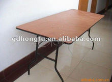 used cheap wood wedding banquet folding table