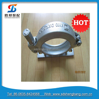 DN125 High Quality cast iron pipe clamp