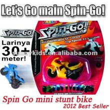 Spin Go mini stunt bike motorcycle