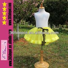 envío gratis de la moda de encaje 2014 con gradas concurso de belleza corto tutu falda para las niñas
