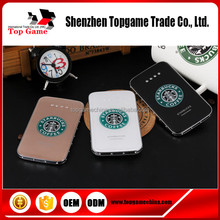 2015 New Crystal Starbucks Power Bank /Ultra Thin Power Bank 8800 mAh