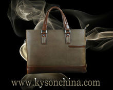 Moda bolsos de señoras, bolsos de negocios de piel para señoras
