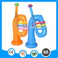 Inflable de trompeta, instrumentos musicales inflables, pvc instrumentos musicales