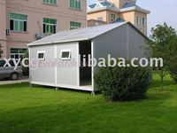 High quality prefabricated house with complete accessory
