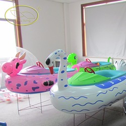 cheap inflatable boat water park equipment electric bumper boat