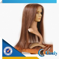 china best chocolate glueless full stretch cap lace wigs for white people