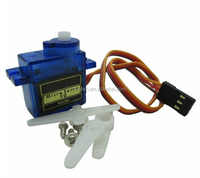 SG90 360 degrees 9g Mini Micro Servo for RC 6CH Airplane RC Helicopter Flight / Car250 / Boat / DIY Robot
