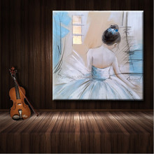 Modern Wall Art Canvas Dancing Oil Painting 42936