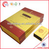 paper boxes for wine shipping glasses with Gold Stamping for wine wholesale