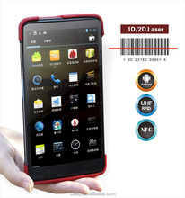 "7""android tablet with sim card, rfid/nfc reader ,barcode scanner."
