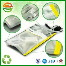 Transparent clear plastic zipper bag, car key waterproof bag