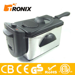 CB CE GS ROHS AND ETL 2.0L STAINLESS STEEL DEEP FRYER