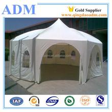 6X6 PVC Pagoda Tents with Peak Top