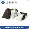 New design cotton bag,black cotton drawstring bag