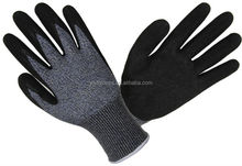 Grip general purpose latex dipped working gloves cut resistent 5