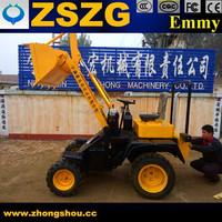 Battery Power 1500w two motors shovel loaders Mini Wheel Loader