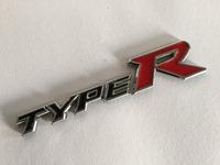 Plastic Chrome TYPE R Emblem