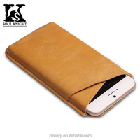 SK-PN001 100% genuine leather phone case holder promotion gift factory price