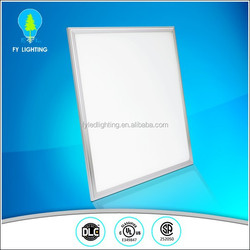 Super bright DLC UL listed daylight led flat panels 600x600mm