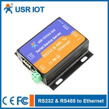( usr- tcp232- 410) serial para lan do servidor, rs232 rs485 conversor ethernet, suporte virtual serial port