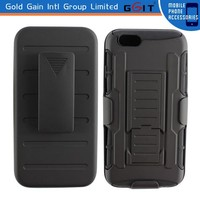 Heavy Duty Rugged Holster Hybrid Hard Case Cover for iPhone 6