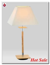 wholesale lamps de table with natural color wooden popular in european
