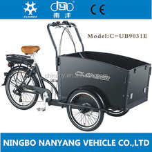 CE new design china 3 wheel electric cargo trike for sale