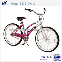 2014 new cool beach cruiser bicycle with powerful brake for you