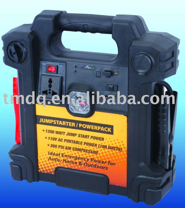4 in 1 12V rechargeable jump start