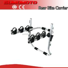Universal Rear Mounted 3 Bicycle trunk bike rack