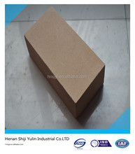 high density refractory fire clay brick of different sizes and shapes for furnace/kiln
