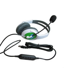 2013 new product Hot selling wired folding headset for PS3/computer