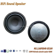 166mm 4ohm 60W High quality 2.1 Multimedia Speaker System