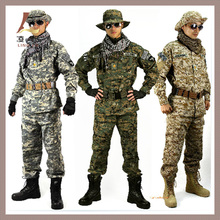 DURABLE MATERIAL HIGH COLOR FASTNESS GOOD DIGITAL cAMO BDU ACU ARMY MILITARY UNIFORM
