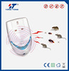 7 in 1 Electromagnetic, Infrared Light and Ultrasonic Pest Repeller with BS Socket and Nightlight GX-010